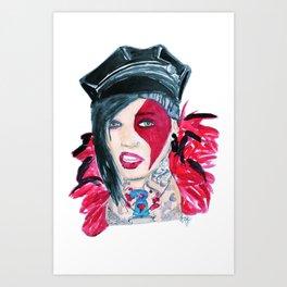 Jayy Von Art Print