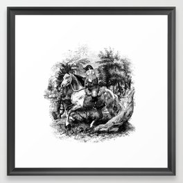 The Last of the Gnomes Framed Art Print