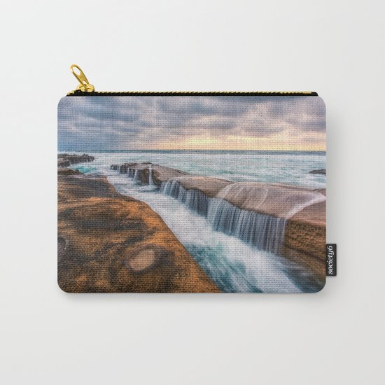 Ocean waves landscape Carry-All Pouch