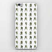 ninja turtle iPhone & iPod Skins featuring Ninja Turtle Pattern by Neal Julian