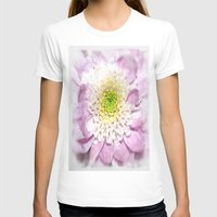 water colour T-shirts featuring Flower Head water colour by Brian Raggatt