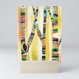 Runk Trees Mini Art Print