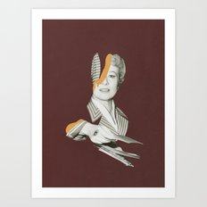 Mr Walker, It's All Over Art Print