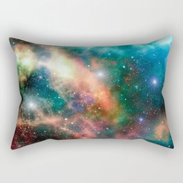 And There Was Light Rectangular Pillow