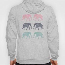 Elephant Pattern Hoody