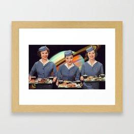 Interstellar Service  Framed Art Print