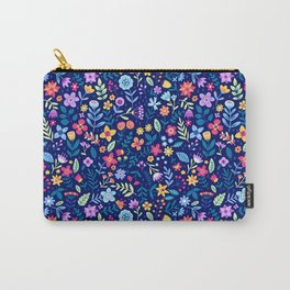 "Cute Floral pattern in the small flower. ""Ditsy print"". Vintage. Carry-All Pouch"