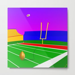 Lysergic Bowl Metal Print