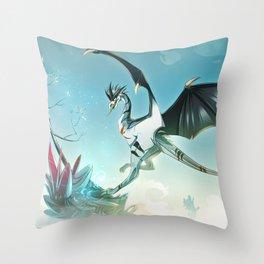 Skyeurosaur - Illustration Throw Pillow