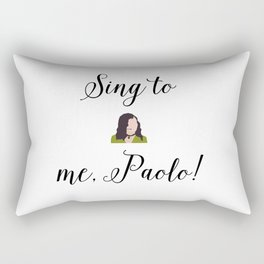 SING TO ME, PAOLO! Lizzie McGuire Rectangular Pillow