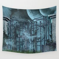 gothic Wall Tapestries featuring Gothic by nicky2342
