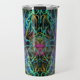 Abstract Energy 4 Travel Mug