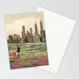 No city should be too large for a man to walk out of in the morning Stationery Cards
