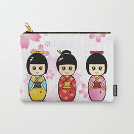 Kokeshi Carry-All Pouch