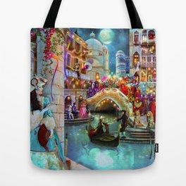 Carnival Moon Tote Bag