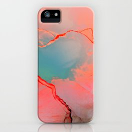 BETTER TOGETHER - LIVING CORAL by MS iPhone Case
