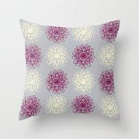 wallpaper Throw Pillows featuring wallpaper by Art Stuff