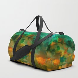 """Abstract forest in Autumn"" Duffle Bag"