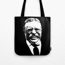 Teddy Roosevelt Smiling Tote Bag