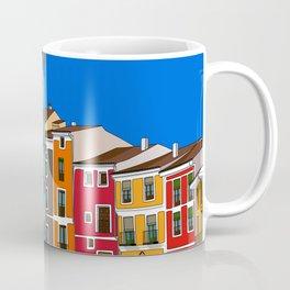 Casas de colores Cuenca. Coffee Mug