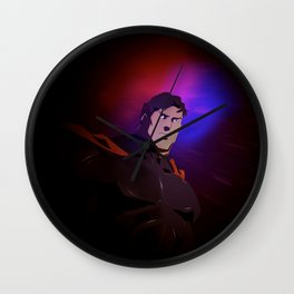 The Fittest Man on Earth Wall Clock