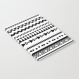 Triangles and more triangles, black Notebook