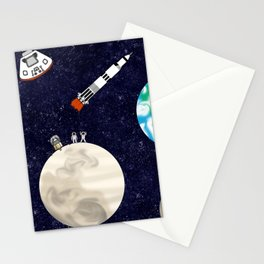 Moon Landing - Large Scale Stationery Cards