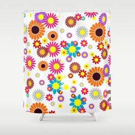 flowers decoration  Shower Curtain