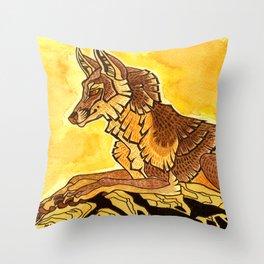 Aurinko Throw Pillow