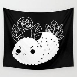 Angry Sea Slug Bunny Wall Tapestry
