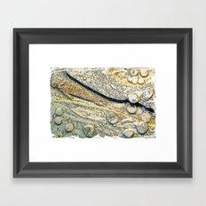 Stone Aged Framed Art Print