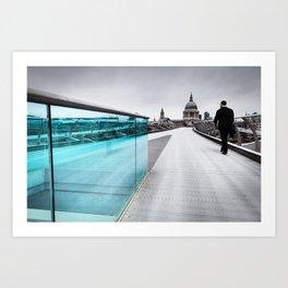 Millenium Commuter Art Print