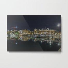 Victoria Harbour - Victoria B.C. Metal Print