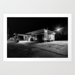 First Class Gas - Midnight Bodega Series Art Print