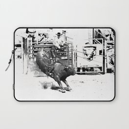 Rodeo Bull Riding Champ Laptop Sleeve