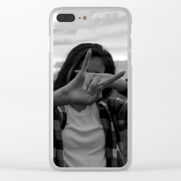 Native Girl Magic Clear iPhone Case