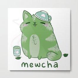 Mewcha Metal Print