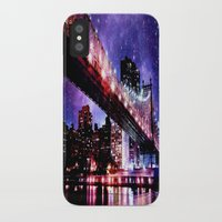 new york iPhone & iPod Cases featuring New York New York by Whimsy Romance & Fun