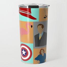 Agent Carter Minimalist Travel Mug