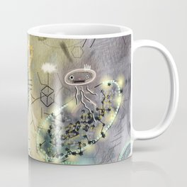 New Worlds Trail Map: The Land of Tall Things Coffee Mug