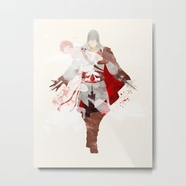 Assassins Creed: Ezio Auditore da Firenze Metal Print