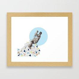 mother's love Framed Art Print