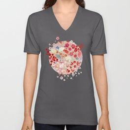Blossom Unisex V-Ausschnitt