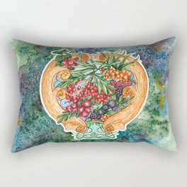 Art nouveau. Mors drink. Rectangular Pillow
