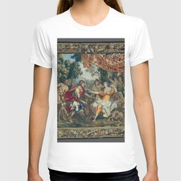 Classical Tapestry design T-shirt