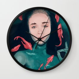 Drown Wall Clock