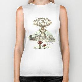 Mushrooms Biker Tank