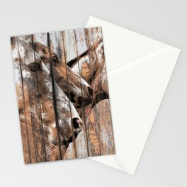Run With the Horses Stationery Cards