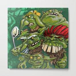 Goblin Pie Crew (v.1) Metal Print