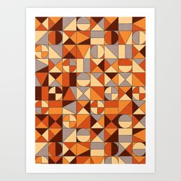 Brown Art Print